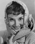 Movie/TV Memorabilia, Audrey Hepburn (95+) vintage production photos and (50) color mini-lobby cards from various films. ...