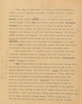 Movie/TV Memorabilia, Richard Matheson's The Twilight Zone original hand-annotated typed treatment, scripts and materials archive for The Last Fligh...