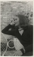 Movie/TV Memorabilia, Greta Garbo personal collection of (200+) snapshots from film and personal life....