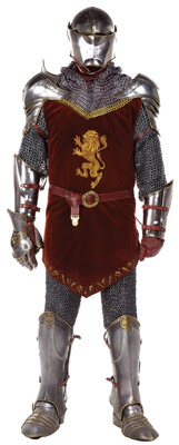 Peter the Magnificent battlefield armor costume