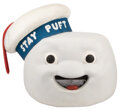 """Movie/TV Memorabilia, """"Stay Puft Marshmallow Man"""" creature head and feet from Ghostbusters...."""