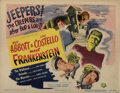 Movie Posters, Bela Lugosi complete (8) lobby card set for Abbott and Costello Meet Frankenstein. . ...