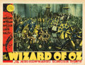 Movie Posters, The Wizard of Oz (2) lobby cards. . ...