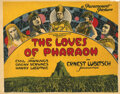 Movie Posters, Director Ernst Lubitsch (4) lobby cards for The Loves of Pharaoh and Lady Windermere's Fan. . ...