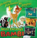 Animation Art, Original Six Sheet for the 1966 re-release of Bambi....