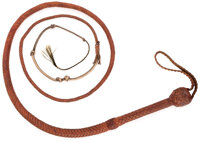 """""""Indiana Jones"""" whip used in 1981, 1984 and 1989 Indiana Jones movies"""