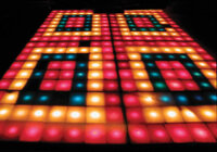 Legendary Illuminating Dance Floor From Saturday Night Fever