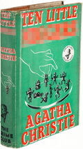 Books:Mystery & Detective Fiction, Agatha Christie. Ten Little N*****s. London The Crime Club by Collins, [1939]. First edition....
