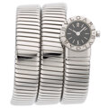 Estate Jewelry:Watches, Bvlgari Lady's White Gold Tubogas Watch Case: ...