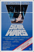 """Movie Posters:Science Fiction, Star Wars (20th Century Fox, R-1982). Rolled, Very Fine-. One Sheet (27"""" X 41"""") Tom Jung Artwork. Science Fiction.. ..."""