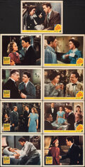 """Movie Posters:Drama, Manhattan Heartbeat & Other Lot (20th Century Fox, 1940). Overall: Very Fine. Lobby Cards (9) (11"""" X 14""""). Drama.. ... (Total: 9 Items)"""