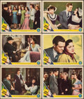 """Movie Posters:Romance, Seven Sweethearts (MGM, 1942). Very Fine-. Lobby Cards (6) (11"""" X 14""""). Romance.. ... (Total: 6 Items)"""