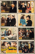 """Movie Posters:Drama, Street of Memories (20th Century Fox, 1940). Overall: Very Fine. Lobby Card Set of 8 (11"""" X 14""""). Drama.. ... (Total: 8 Items)"""