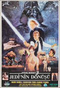 """Movie Posters:Science Fiction, Return of the Jedi (Ozenfilm, 1986). Rolled, Very Fine. First Release Turkish One Sheet (27"""" X 39.25"""") Kazuhiko Sano & Omer ..."""
