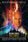 """Movie Posters:Science Fiction, Star Trek: First Contact (Paramount, 1996). Rolled, Very Fine. One Sheet (26.75"""" X 39.75"""") DS Advance. Science Fiction.. ..."""