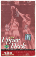 Basketball Cards:Unopened Packs/Display Boxes, 1995 Upper Deck Basketball Series 1 Retail Box With 36 Unopened Packs....