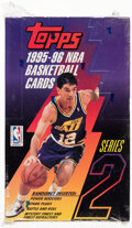 Basketball Cards:Unopened Packs/Display Boxes, 1995 Topps Basketball Series 2 Box With 36 Unopened Packs....