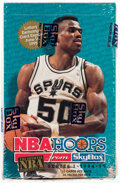 Basketball Cards:Unopened Packs/Display Boxes, 1994 NBA Hoops Basketball Series 1 Box With 36 Unopened Packs....