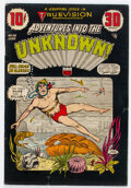 Golden Age (1938-1955):Horror, Adventures Into The Unknown #56 (ACG, 1954) Condition: VG+....