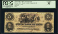 Dayton, OH- State Bank of Ohio, Dayton Branch $5 Oct. 6, 1858 OH-5 G600, Wolka 1003-25 PCGS Very Fine 35