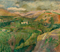 Paintings, Charles Camoin (French, 1879-1965). Paysage montagneux, Espagne, 1907. Oil on canvas. 25-1/4 x 30 inches (64.1 x 76.2 cm...