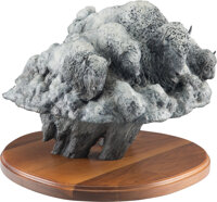 Christy Daniels (American, b. 1968) Thunderheads Bronze with custom patina 22 inches (55.9 cm) high on a 1-1/2 inch (