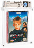 Video Games:Nintendo, Home Alone 2: Lost in New York - Wata 9.4 A+ Sealed [Oval SOQ R], NES THQ 1992 USA. ...