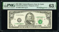 Error Notes:Shifted Third Printing, Shifted Third Printing Error Fr. 2124-H $50 1990 Federal Reserve Note. PMG Choice Uncirculated 63 EPQ.. ...