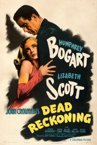 """Dead Reckoning (Columbia, 1947). Fine/Very Fine on Linen. One Sheet (27"""" X 41"""") Style B"""