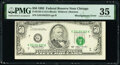 Error Notes:Miscellaneous Errors, Misaligned Face Printing Error Fr. 2125-G $50 1993 Federal Reserve Note. PMG Choice Very Fine 35.. ...
