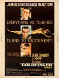 """Movie Posters:James Bond, Goldfinger (United Artists, 1964). Rolled, Fine/Very Fine. Poster (30"""" X 40"""").. ..."""