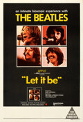 """Movie Posters:Rock and Roll, Let It Be (United Artists, 1970). Fine/Very Fine on Linen. Australian One Sheet (27.25"""" X 40""""). Rock and Roll. . ....."""