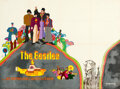 Movie Posters:Animation, Yellow Submarine (United Artists, 1968). Very Fine- on Lin...