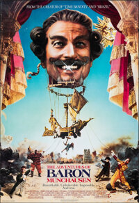 """The Adventures of Baron Munchausen (Columbia, 1988). Rolled, Fine+. One Sheet (27"""" X 40"""") SS, Adventure"""