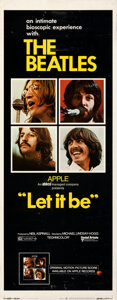 """Movie Posters:Rock and Roll, Let It Be (United Artists, 1970). Rolled, Fine/Very Fine. Insert (14"""" X 36"""").. ..."""