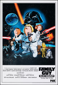 "Family Guy: Blue Harvest (20th Century Fox, 2007). Rolled, Very Fine+. One Sheet (27"" X 39.5"") SS Advance. Ani..."