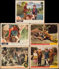 """Movie Posters:Drama, Son of Lassie & Other Lot (MGM, 1945). Overall: Fine+. Lobby Cards (5) (11"""" X 14""""). Drama.. ... (Total: 5 Items)"""