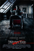 """Movie Posters:Musical, Sweeney Todd: The Demon Barber of Fleet Street (Warner Bros., 2007). Rolled, Overall: Very Fine+. One Sheets (2) (27"""" X 40"""")... (Total: 2 Items)"""