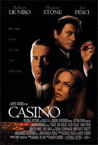 """Casino (Universal, 1995). Rolled, Very Fine. One Sheet (26.75"""" X 39.75"""") DS. Crime"""