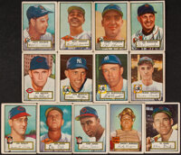 1952 Topps Baseball High Number Collection (77)