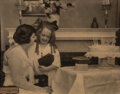 Photographs, Unknown Artist (American, 20th Century). A Brownie for her Birthday, circa 1910. Gelatin silver on Eastman Royal Bromide...
