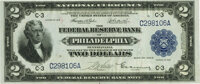 Fr. 753 $2 1918 Federal Reserve Bank Note PMG Choice About Unc 58 EPQ