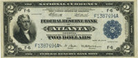 Fr. 764 $2 1918 Federal Reserve Bank Note PMG Extremely Fine 40
