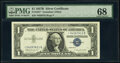 Small Size:Silver Certificates, Fr. 1621* $1 1957B Silver Certificate Star. PMG Superb Gem...