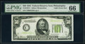 Small Size:Federal Reserve Notes, Fr. 2102-C $50 1934 Light Green Seal Federal Reserve Note....