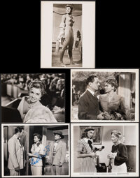 """Esther Williams Lot (1945-1970s). Overall: Very Fine-. Signed Photo (8"""" X 10""""), Photos (7) (8"""" X 10""""..."""