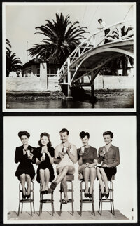 """Bathing Beauty & Other Lot (MGM, 1944). Very Fine. Photos (2) (8"""" X 10"""") Original Title: Mr. Co-Ed. Musica..."""