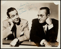 "Jimmy & Tommy Dorsey (1940s). Fine+. Signed Photo (8"" X 10""). Photo"