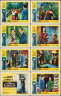 """Movie Posters:Drama, The Barefoot Contessa (United Artists, 1954). Fine/Very Fine. Lobby Card Set of 8 (11"""" X 14""""). Drama.. ... (Total: 8 Items)"""