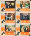 """Movie Posters:Comedy, A Girl in Every Port (RKO, 1952). Fine. Lobby Cards (6) (11"""" X 14""""). Comedy.. ... (Total: 6 Items)"""